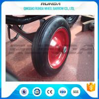 """Buy cheap Centered Hub Heavy Duty Pneumatic Wheels 14""""X4"""" Ball Bearing For Air Compressor product"""