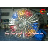 Buy cheap PVC / TPU Inflatable Zorb Ball Waterproof Inflatable Body Zorb Ball For Park product
