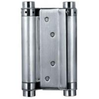 Buy cheap Satin Stainless Steel Square Door Hinges Double Action Spring Door Hinge product