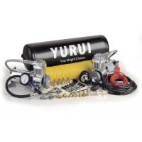 Buy cheap Dual Onboard Air System 12 Volt Silver Black Color With Air Tanks Fast Inflation Air Compressor For 4x4 product