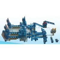Buy cheap Blue 1200mm Waste Tire Recycling Machine For Automobile Industry / Radial Steel Tires product