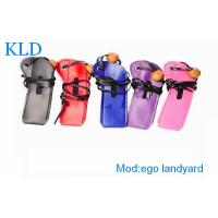 Buy cheap Leather E-Cig Accessories , Ego Battery Pouch For Ego Atomizer from wholesalers