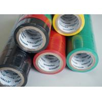 Buy cheap Matte Surface PVC Electrical Tapes Black Rubber Adhesion , Voltage breakdown 4KV product