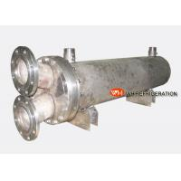 Buy cheap Water Cooled Shell & Tube Titanium Heat Exchanger ForMarine Engine / Boat Engine product