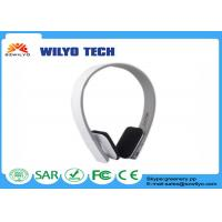 Buy cheap Wireless Cellular Phone Accessories Adjustable Bluetooth Headphone Black product