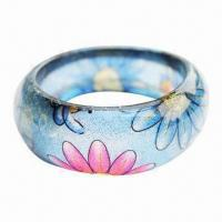 Buy cheap Resin Bangle, Popular Style, Fashionable, Available in Various of Designs product