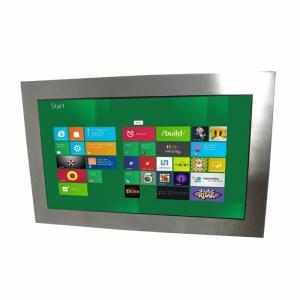 24 Inch Industrial Rugged LCD Monitor IP67 Waterproof 400nits Brightness