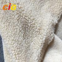 Buy cheap Acrylic Polyester Sherpa Long Pile Faux Fur Fabric For Seat Cover Garment product