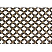 Buy cheap Decorative Flat Wire Mesh Screen Cabinets Nonpoisonous Convenient Handling product