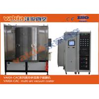 Buy cheap Stainless Steel Sheet PVD Coating Machine , TiN Coating / TiC Plating Equipment product