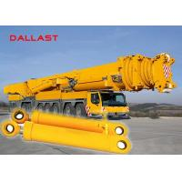 Buy cheap Chromed Hydraulic Hoist Cylinder , Medium Press Double Ended Hydraulic Ram product