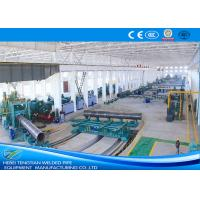 Buy cheap Heavy Duty Spiral Welded Pipe Mill , Custom Welding Pipe Machine N80 Grade product