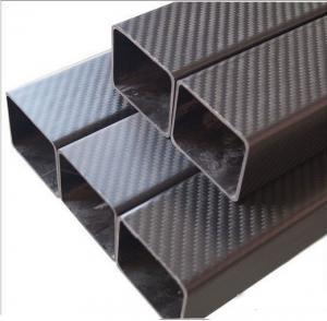 China 3K carbon fiber square tube on sale