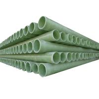 Buy cheap Fiberglass pipe GRP pipe DN300mm from wholesalers