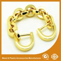 China Light Gold Aluminum Handbag Metal Chain , Purse Security Chain on sale