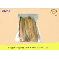 Buy cheap Eco Frozen Fish 3 Side Sealed Vacuum Pack Storage Bags With Exquisite Gravure Printing product