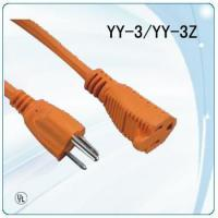 Buy cheap 125V colorful UL plug socket round wire extension cords from wholesalers