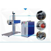 China 10W and 20W Fiber Laser Marking Machine for Tools black and deep marking on sale