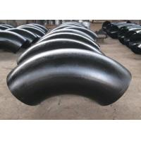 Buy cheap Industrial Weldable Steel Pipe Fittings ASTM A234 Wrought Carbon For Moderate Temp Service product