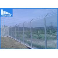 Buy cheap Sport Field / Prison Anti Climb Fencing Panels Durable Easily Assembled from wholesalers