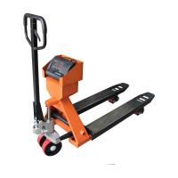 Buy cheap 1T - 3T Hand Pallet Truck Scales / Weighing Machine RS232 Interface Optional product