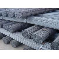 Quality HRB400 Grade Deformed Steel Bars , ASTM Construction Iron Rod Length 12m for sale