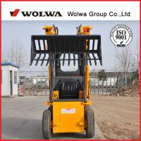same configuration 1.5ton KUBOTA engine skid steer loader mini loader different skid steer attachments available