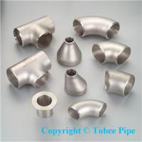 Buy cheap Steel welding pipe fitting-elbow,Tee,Reducer product