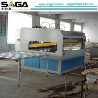 China HF High Frequency Edge Gluing Wood Panle Edge Joining Press Machiney SP30-SA on sale