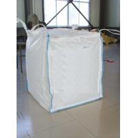 Buy cheap FIBC 100% Pure Pp Material Ton Bag , Jumbo Plastic Bag With Baffle from wholesalers