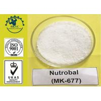 Buy cheap Ibutamoren MK-677 Sarms Raw Powder For Fat Loss , Injury Healing and Bone Strengthening product
