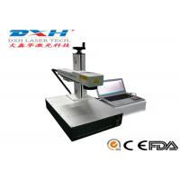 Buy cheap Fully Automatic Fiber Laser Marking Machine Usb Laser Engraver Online Editing Function product