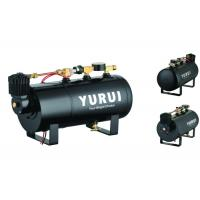 Buy cheap Durable Black Small 2 In 1 Air Lift Suspension Compressor With 1.0 Gallon Air Tank product