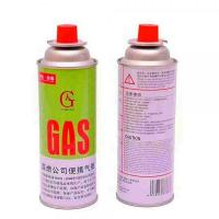 China Metal Butane Gas Stove Refill Aerosol Cans on sale