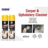Buy cheap Carpet & Upholstery Foam Cleaner For Lifting Away Dirt And Debris Without Harming Surface product