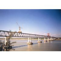 Buy cheap Performance Steel Truss Temporary Pedestrian Bridge with Paint Surface product