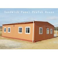 Buy cheap 70-80 M2 White Wall Panels Prefabricated Container House Apartment Dormitory product