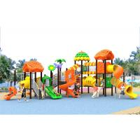 Buy cheap Galvanised Steel Toddler Kids Plastic Play Structure Playground Sets Exercise product