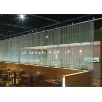 Buy cheap Chain Link Curtain Metal Coil Drapery For Restaurants / Cafes / Retail Outlets product
