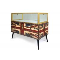 China Nordic Style Digital Products Showcase / Phone Display Cabinet Luxurious Glass Material on sale