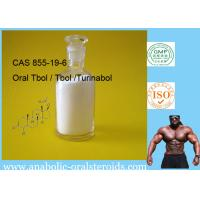 Quality 855-19-6 Oral Tbol / Tbol / Turinabol Add Amazing Dry , Lean Gains And Strength for sale