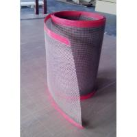 Buy cheap Brown PTFE Coated Glassfiber High Temp Conveyor Belt Non Stick Surface product