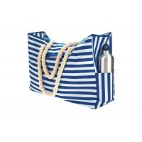 Buy cheap Blue Sky Oxford Waterproof Beach Bags And Totes 12A Canvas Polyester Handbags product