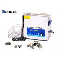 Buy cheap Low Noise 10L Ultrasonic Cleaning Bath  Power Adjustable  With Sweep  Degass product