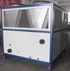 Buy cheap охлаждая блок охладителя воды емкости 100Кв/х охлаженный воздухом с компрессором Санйо product