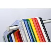 Buy cheap ABS Plastic Pop Display Frame Stand , Plastic Snap Frames In Red Yellow Blue product