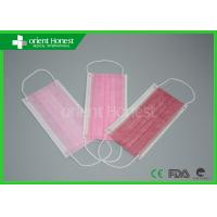 China 2Ply/3ply/4ply Disposable Face Masks Ear loop & Tie On Auto Machine Individual on sale