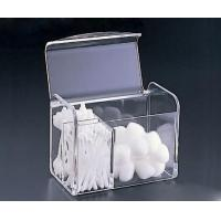 Buy cheap Clear Acrylic Cotton Swab Box With Beautiful Shape product