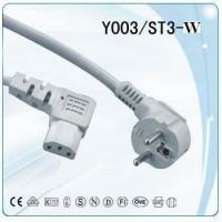 China German computer  power cord with IEC 320 C13 connector on sale