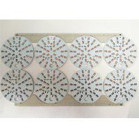 Buy cheap White Soldermask Aluminium  LED Light PCB Board with ENIG / HASL Surface product